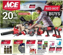 Catalogue Ace Hardware from 07/01/2020