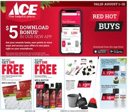 Catalogue Ace Hardware from 08/01/2020