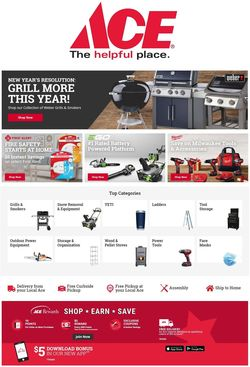 Catalogue Ace Hardware from 12/31/2020