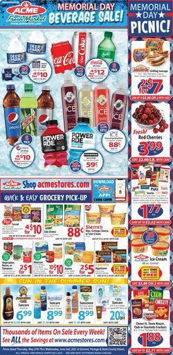 Catalogue Acme Fresh Market from 05/27/2021