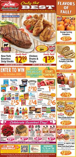 Current weekly ad Acme Fresh Market