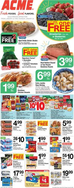 Current weekly ad Acme