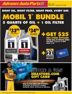 Current weekly ad Advance Auto Parts