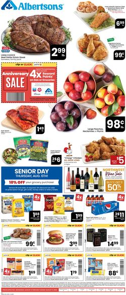 Catalogue Albertsons from 08/05/2020