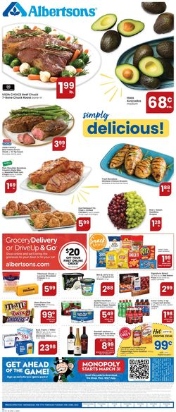 Catalogue Albertsons from 02/17/2021