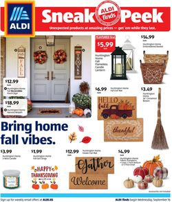 Catalogue ALDI from 09/16/2020