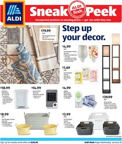 Current weekly ad ALDI