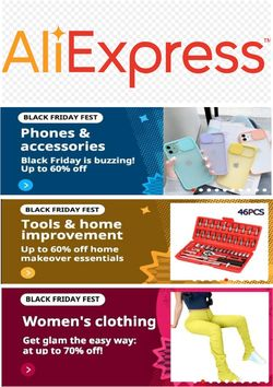 Current weekly ad AliExpress