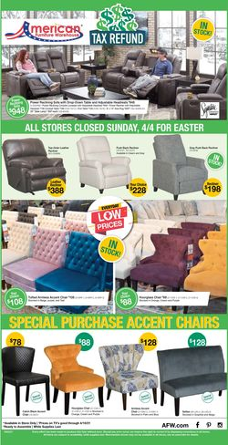 Catalogue American Furniture Warehouse from 04/05/2021