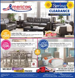 Current weekly ad American Furniture Warehouse