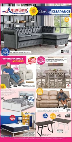 Catalogue American Furniture Warehouse from 04/14/2021