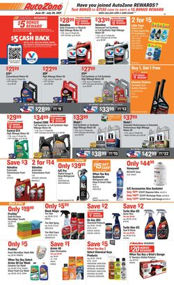 Current weekly ad Autozone