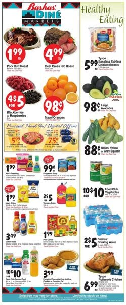 Current weekly ad Bashas