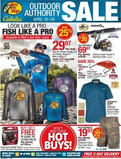 Catalogue Bass Pro from 04/16/2020