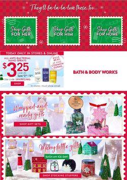 Current weekly ad Bath & Body Works