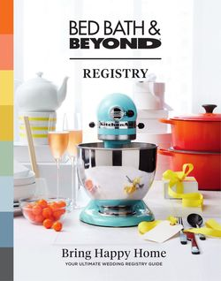 Catalogue Bed Bath and Beyond from 12/17/2021