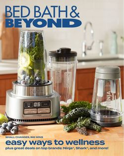 Catalogue Bed Bath and Beyond from 02/08/2021