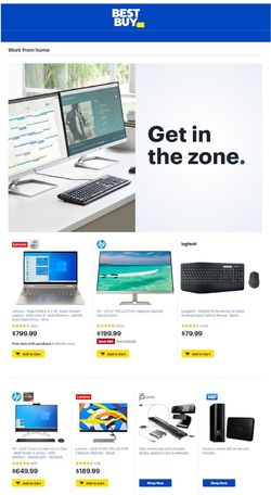 Catalogue Best Buy from 09/18/2020