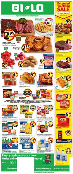 Current weekly ad BI-LO