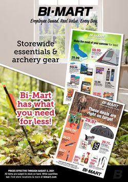 Current weekly ad Bi-Mart