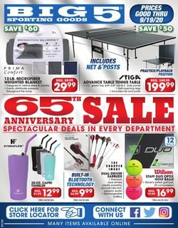 Current weekly ad Big 5