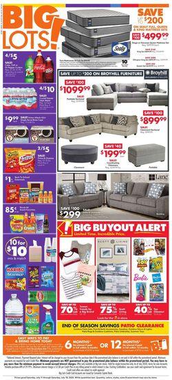 Current weekly ad Big Lots