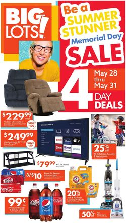 Catalogue Big Lots from 05/22/2021
