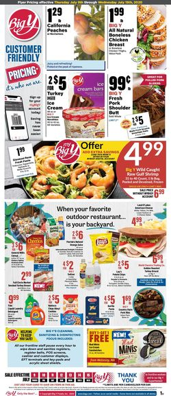 Current weekly ad Big Y