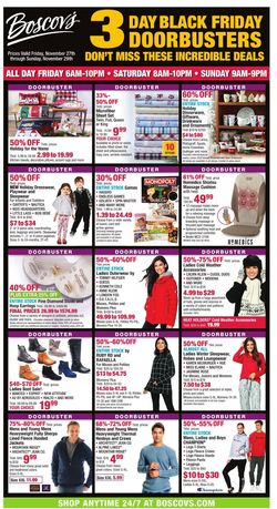 Current weekly ad Boscov's