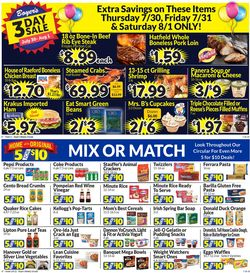 Catalogue Boyer's Food Markets from 07/26/2020