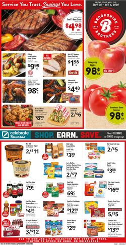 Current weekly ad Brookshire Brothers