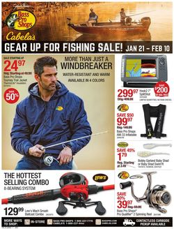 Current weekly ad Cabela's