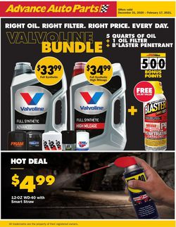 Catalogue CarQuest from 12/31/2021