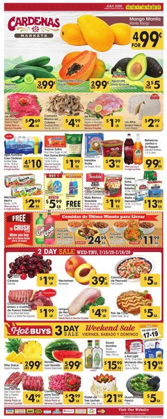 Catalogue Cardenas from 07/15/2020
