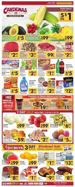 Catalogue Cardenas from 07/22/2020