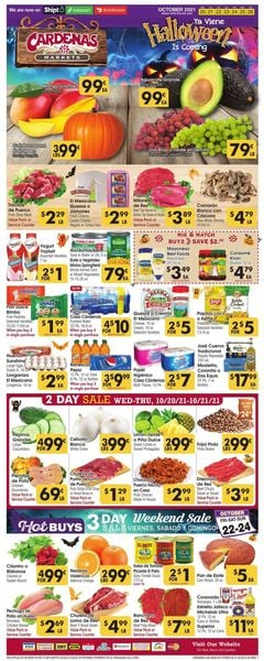 Current weekly ad Cardenas