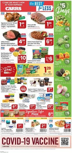 Current weekly ad Carrs