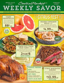 Current weekly ad Central Market