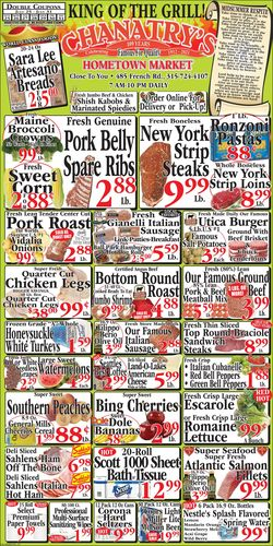 Current weekly ad Chanatry's Hometown Market