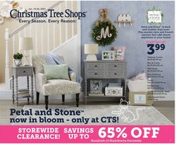 Current weekly ad Christmas Tree Shops