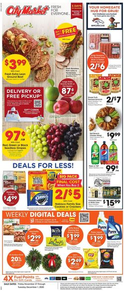 Current weekly ad City Market