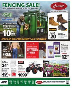 Catalogue Coastal Farm & Ranch from 04/14/2021