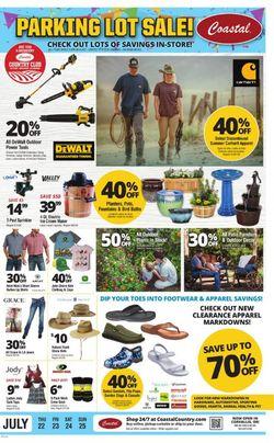 Current weekly ad Coastal Farm & Ranch