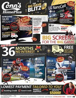 Current weekly ad Conn's Home Plus