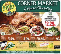 Current weekly ad Corner Market