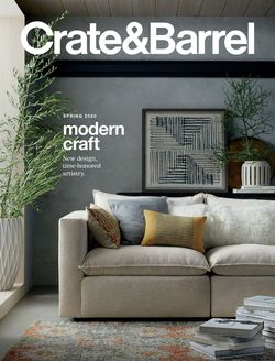 Catalogue Crate & Barrel from 02/07/2020