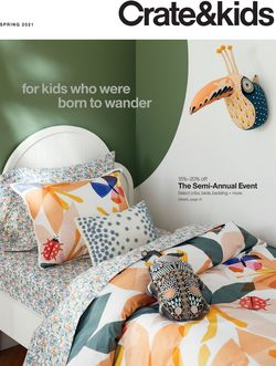 Current weekly ad Crate & Barrel