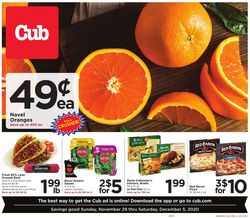 Catalogue Cub Foods Cyber Monday 2020 from 11/29/2020