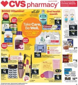Catalogue CVS Pharmacy from 06/21/2020