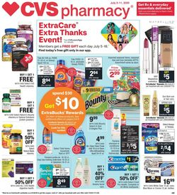Catalogue CVS Pharmacy from 07/05/2020